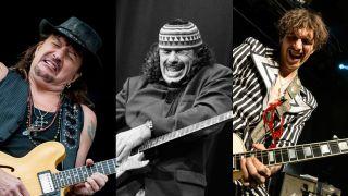 Sambora, Santana, Hawkins