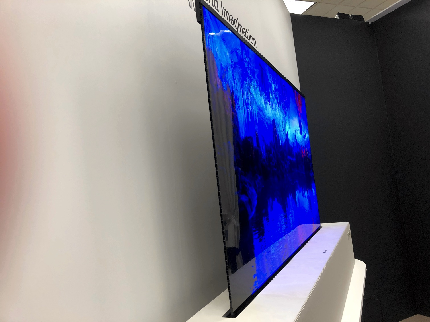 c791aa032551 LG's Amazing Rollable TV Is Becoming a Real Product This January | Tom's  Guide