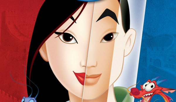 Mulan animated version cover art