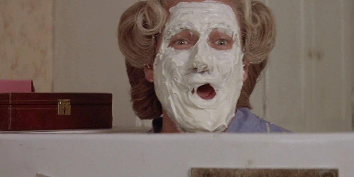Robin Williams in Mrs. Doubtfire
