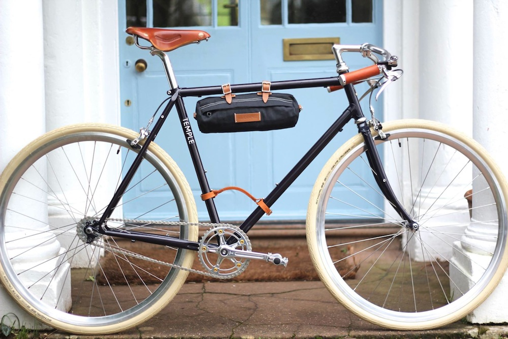 4bdd72904ce Temple Cycles' owner, 26-year-old Matt Mears started out restoring classic  bicycles when he was studying at Bristol University, founding the business  is ...