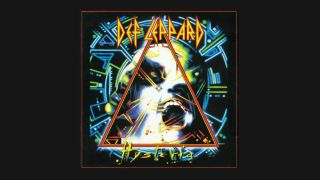 The artwork for Def Leppard's album Hysteria
