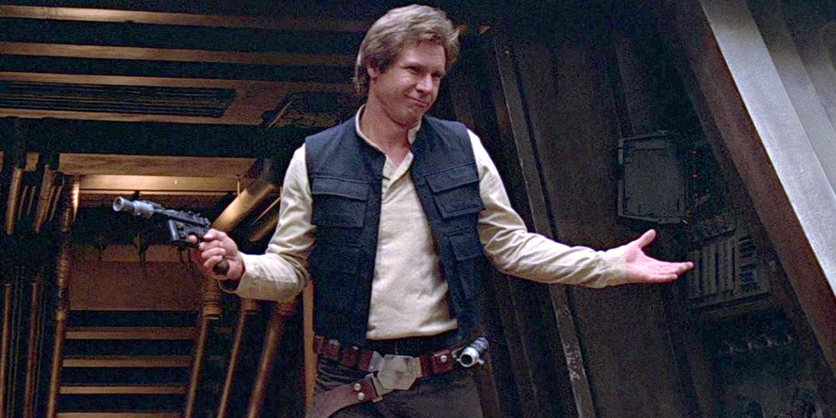 Shrug? 'Ben Solo Challenge' Goes Viral As Star Wars Fans Honor Han Solo And Son's Matching Moves - CINEMABLEND