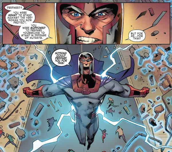 Magneto from the comics