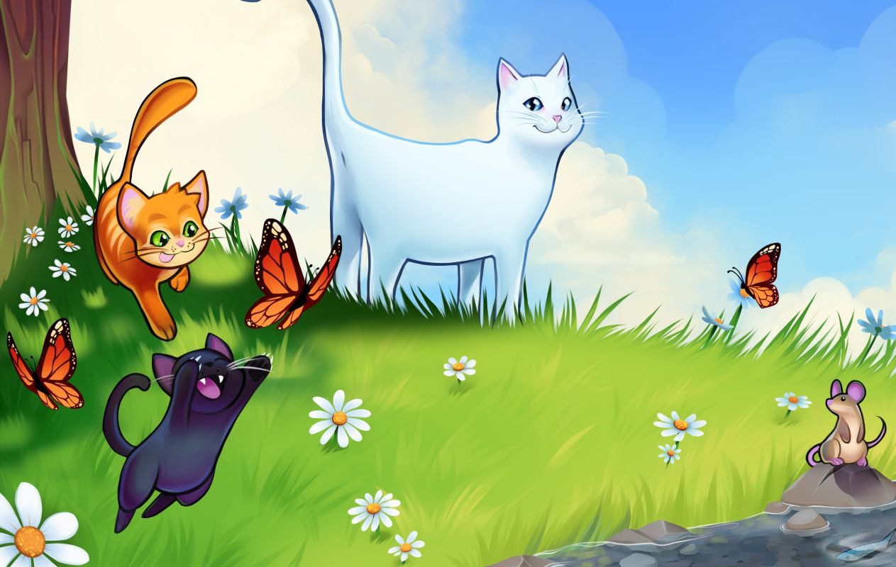 In Cattails you are cute, cuddly, and born to conquer | PC Gamer