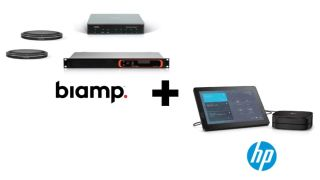 Biamp and HP conferencing solutions