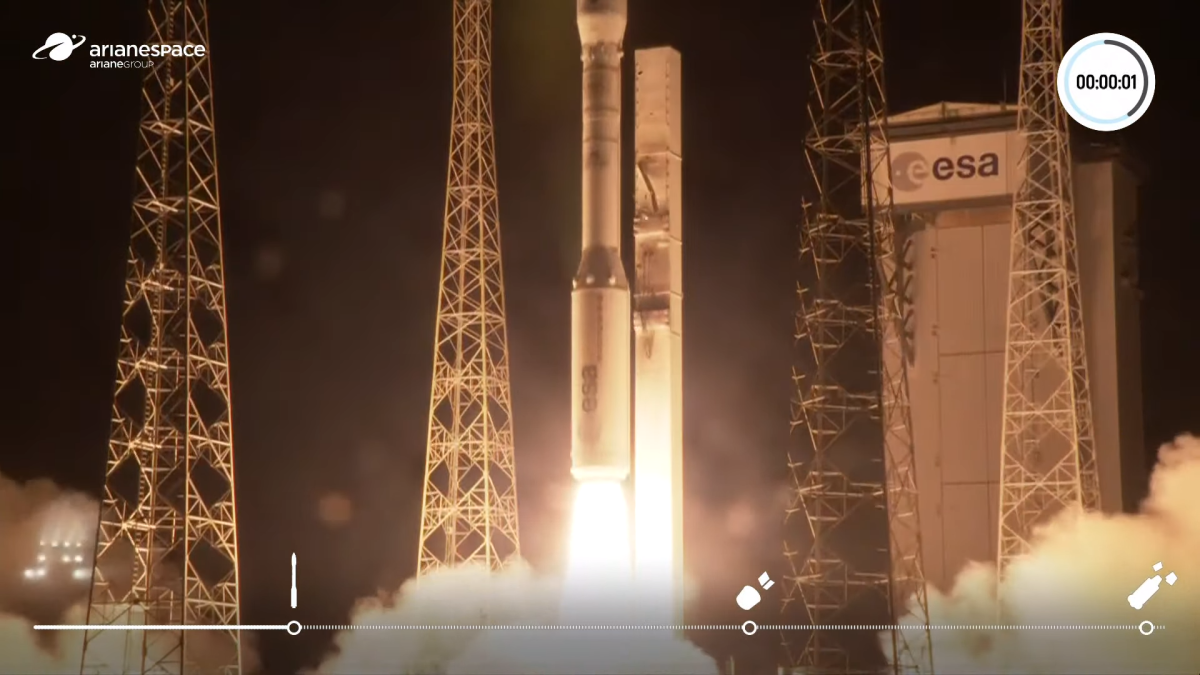 Vega rocket returns to flight with Europe's most advanced Earth observation satellite yet