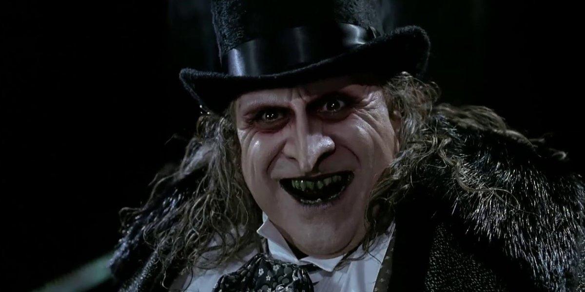Danny DeVito as The Penguin in Batman Returns