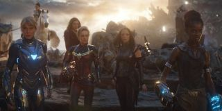 The Women of Marvel together in Endgame