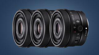 Sony FE 500mm 40mm 24mm