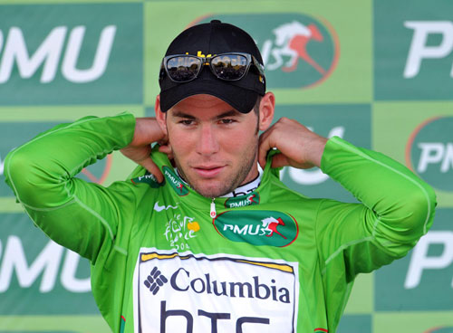 Mark Cavendish, Tour de France 2009, stage 4 TTT