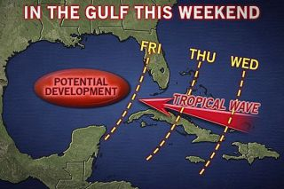 gulf weather forecast