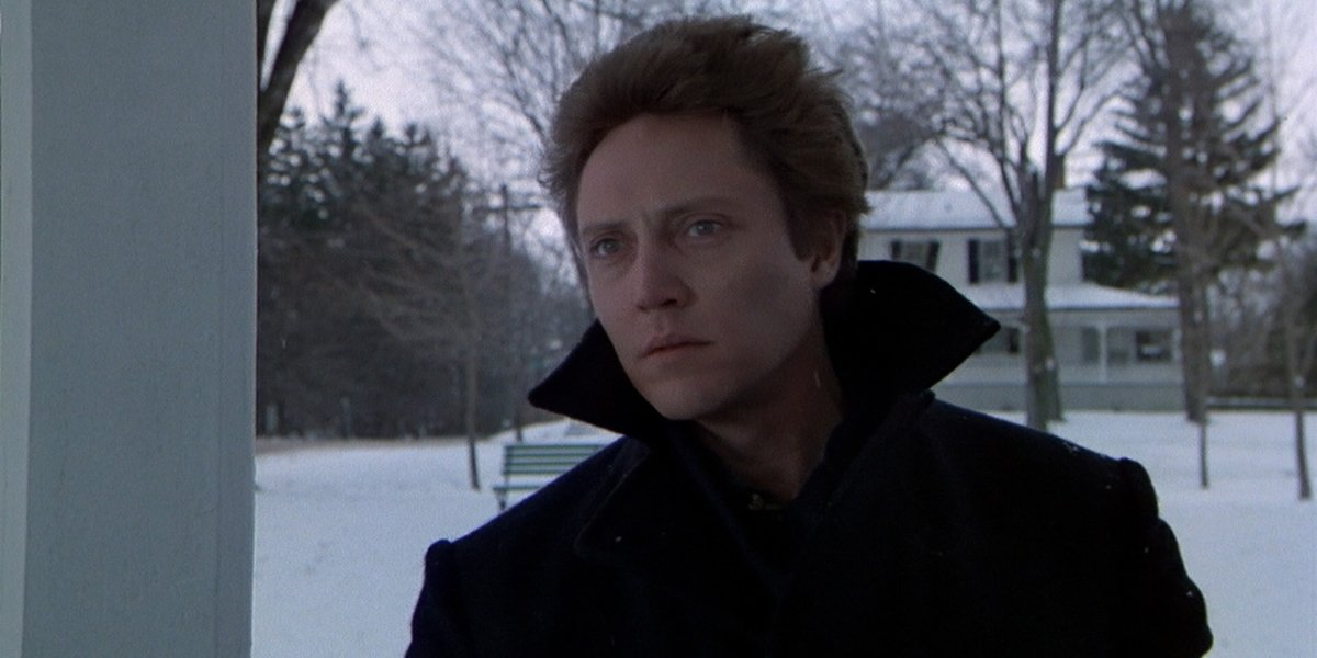 Christopher Walken as Johnny Smith in The Dead Zone