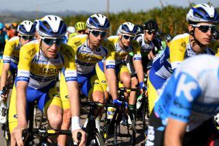 The Sport Vlaanderen-Baloise team in action