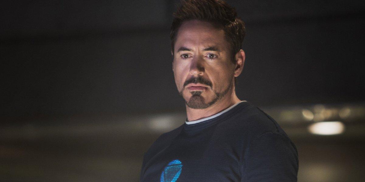 Robert Downey Jr. as Tony Stark in Iron Man 3