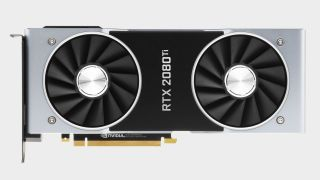 Nvidia GeForce RTX 2080 Ti graphics card at various angles