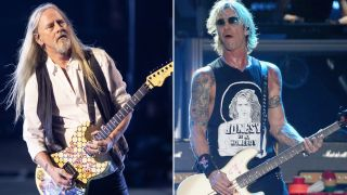 Jerry Cantrell and Duff McKagan