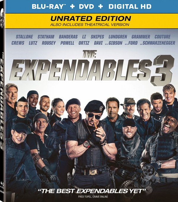 The expendables 3 box