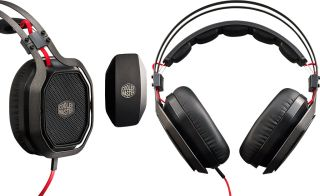 Cooler Master's over-the-ear MasterPlus Pro headset supports