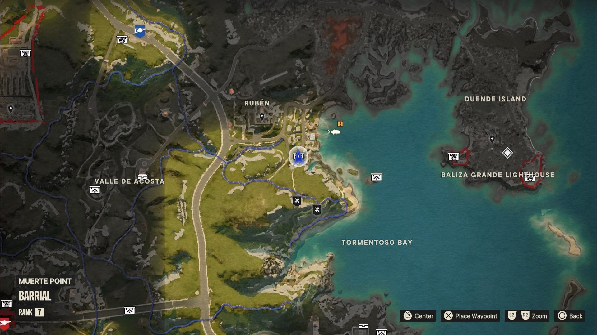 A Far Cry 6 Criptograma chest location in east Valle De Oro
