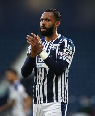 Kyle Bartley is aiming to captain West Brom straight back to the Premier League next season.