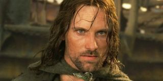 Viggo Mortensen as Aragorn in Lord of the Rings: Return of the King