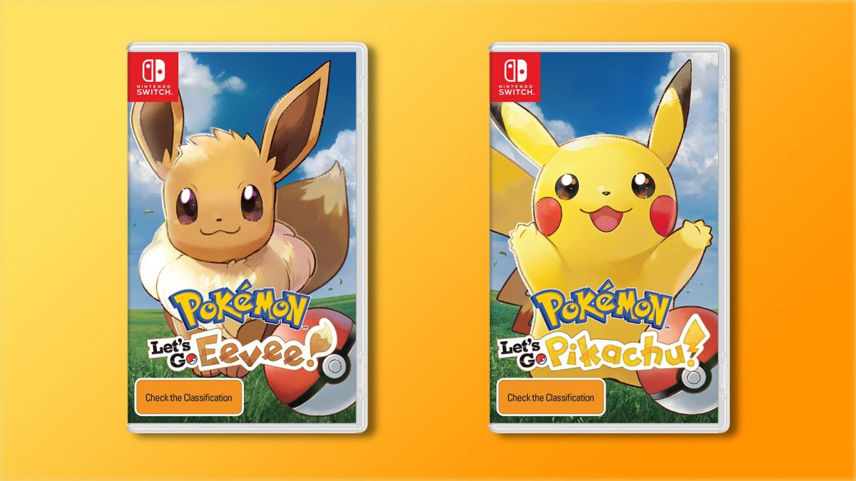 Nintendo's Switch is getting three new Pokémon games in 2018