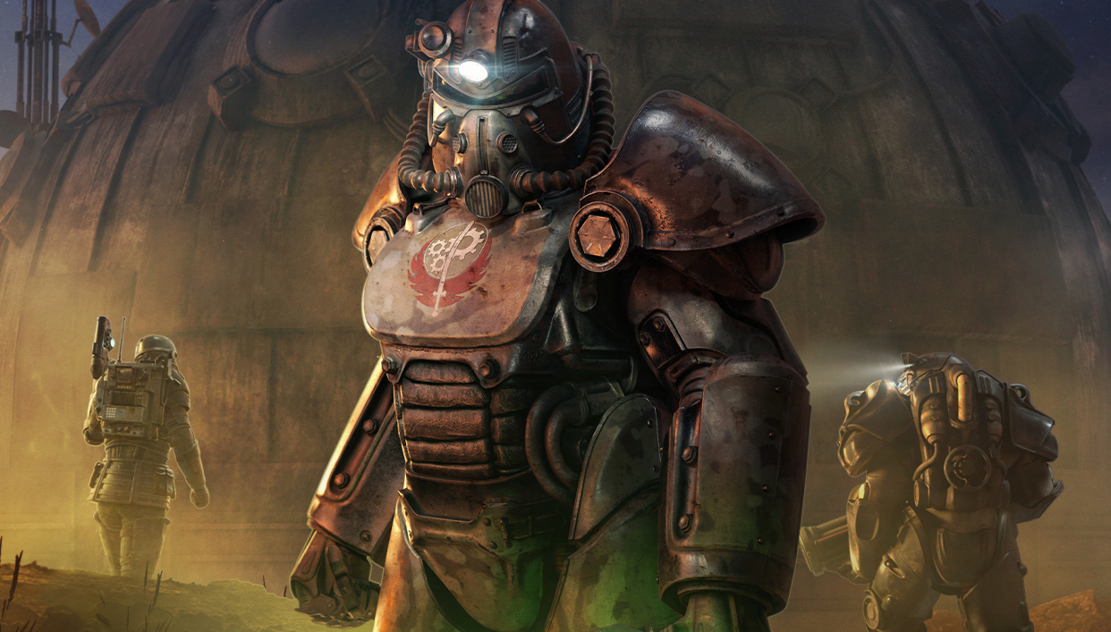 Fallout 76 2021 roadmap leads to legendary power armor, pets, and aliens