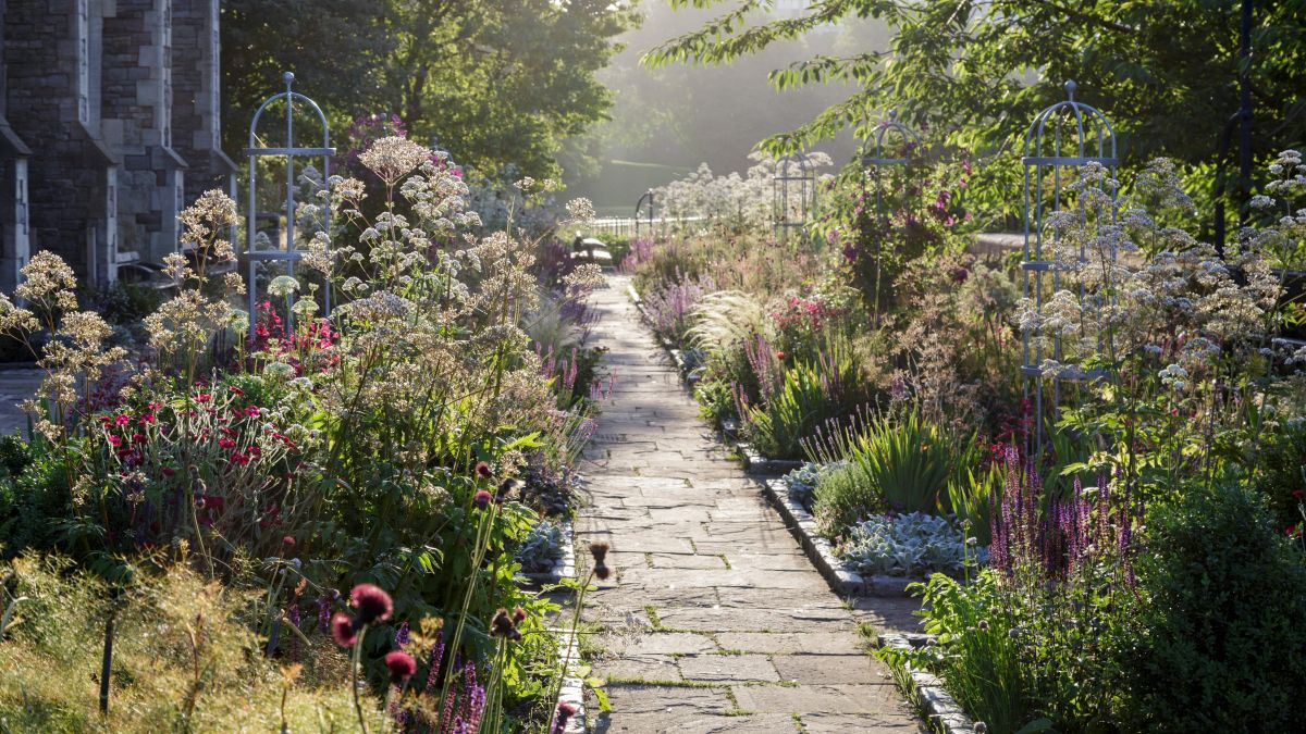 Garden path ideas – create a beautiful walkway with the right materials, edging and plants