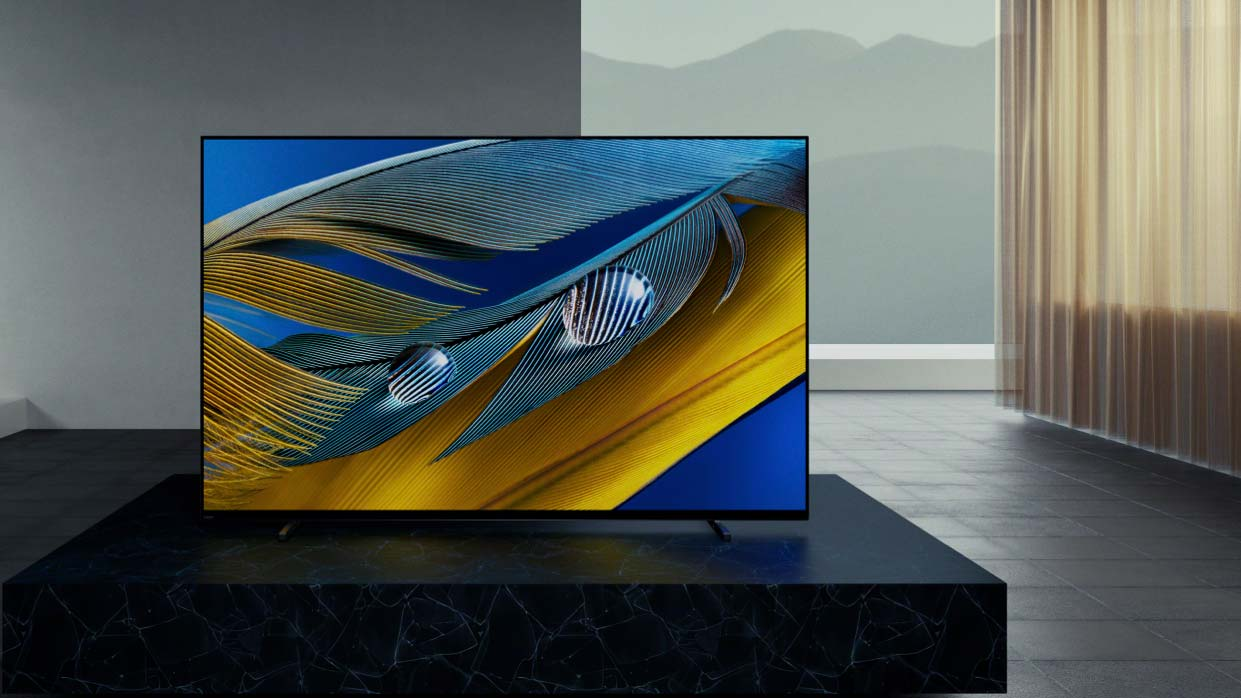 best TV: Sony Bravia XR A80J OLED