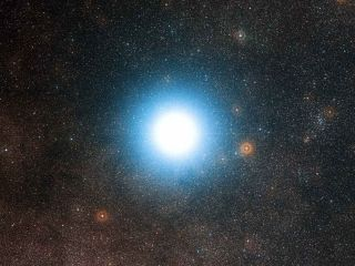 A new planet-hunting instrument has begun studying our bright neighboring star system, Alpha Centauri.