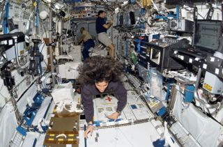 Astronaut Cuts Her Hair in Space for Charity