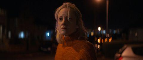 Andrea Riseborough in 'Here Before.'