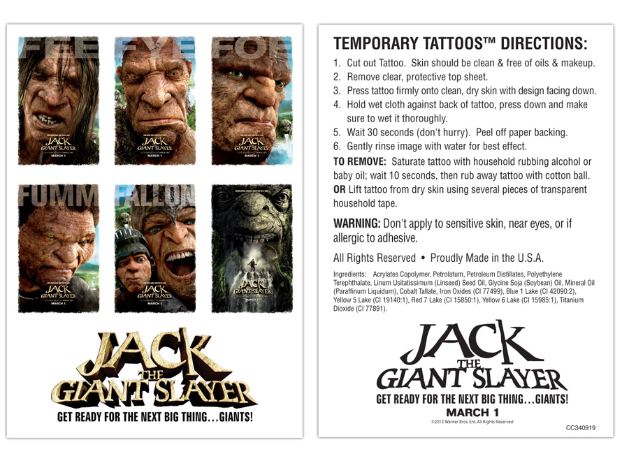 Jack The Giant Slayer Giveaway: Win A Quesadilla Maker, Coffee Gift Basket And Much More #6874