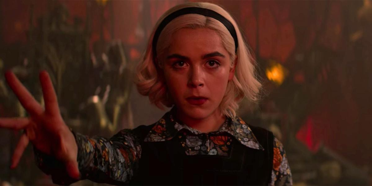 Chilling Adventures of Sabrina Season 3 finale screenshot, only on Netflix