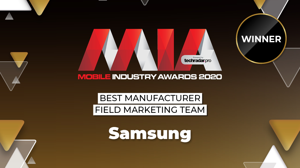 Mobile Industry Awards 2020: Samsung Wins Best Manufacturer Field Marketing Team thumbnail