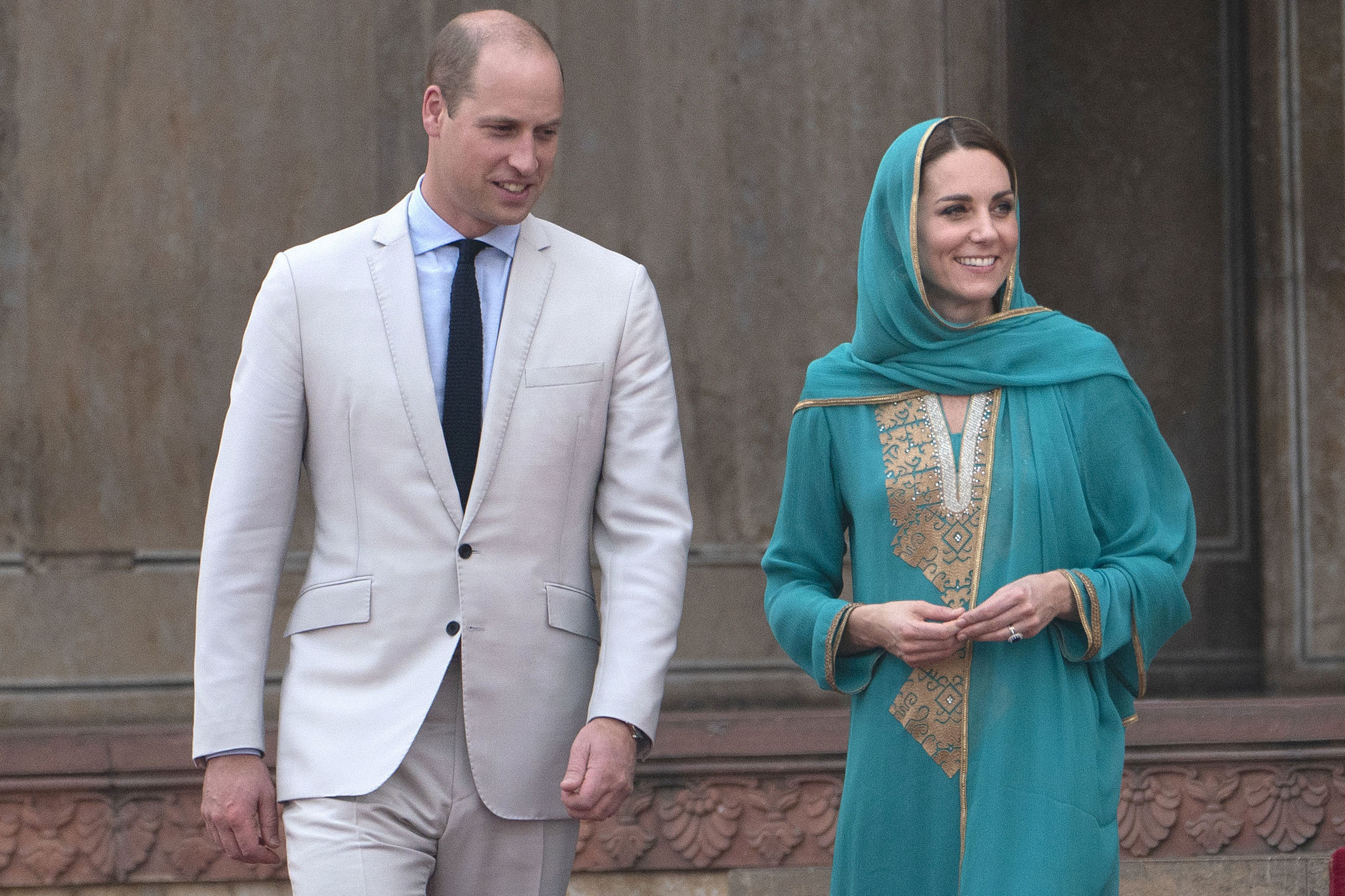 The Duke and Duchess of Cambridge followed in Diana's footsteps during Pakistan tour with emotional hospital visit
