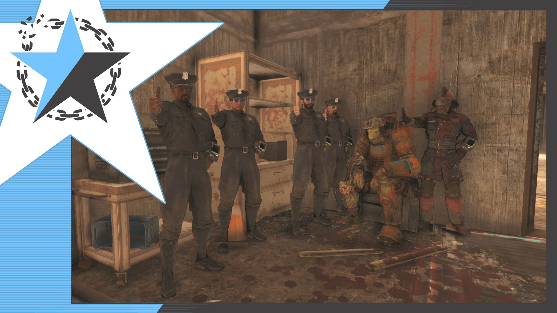 Fallout 76 players set up in-game police department to protect and