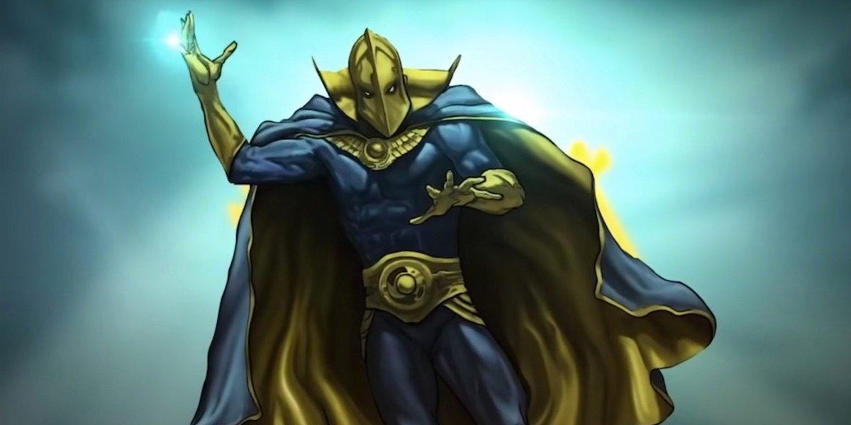 Doctor Fate Black Adam concept art