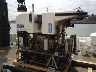 NOAA's Deep Discoverer, or D2, which just completed its first official exploratory expedition (aboard the Okeanos Explorer) of submarine canyons off the U.S. Northeast.