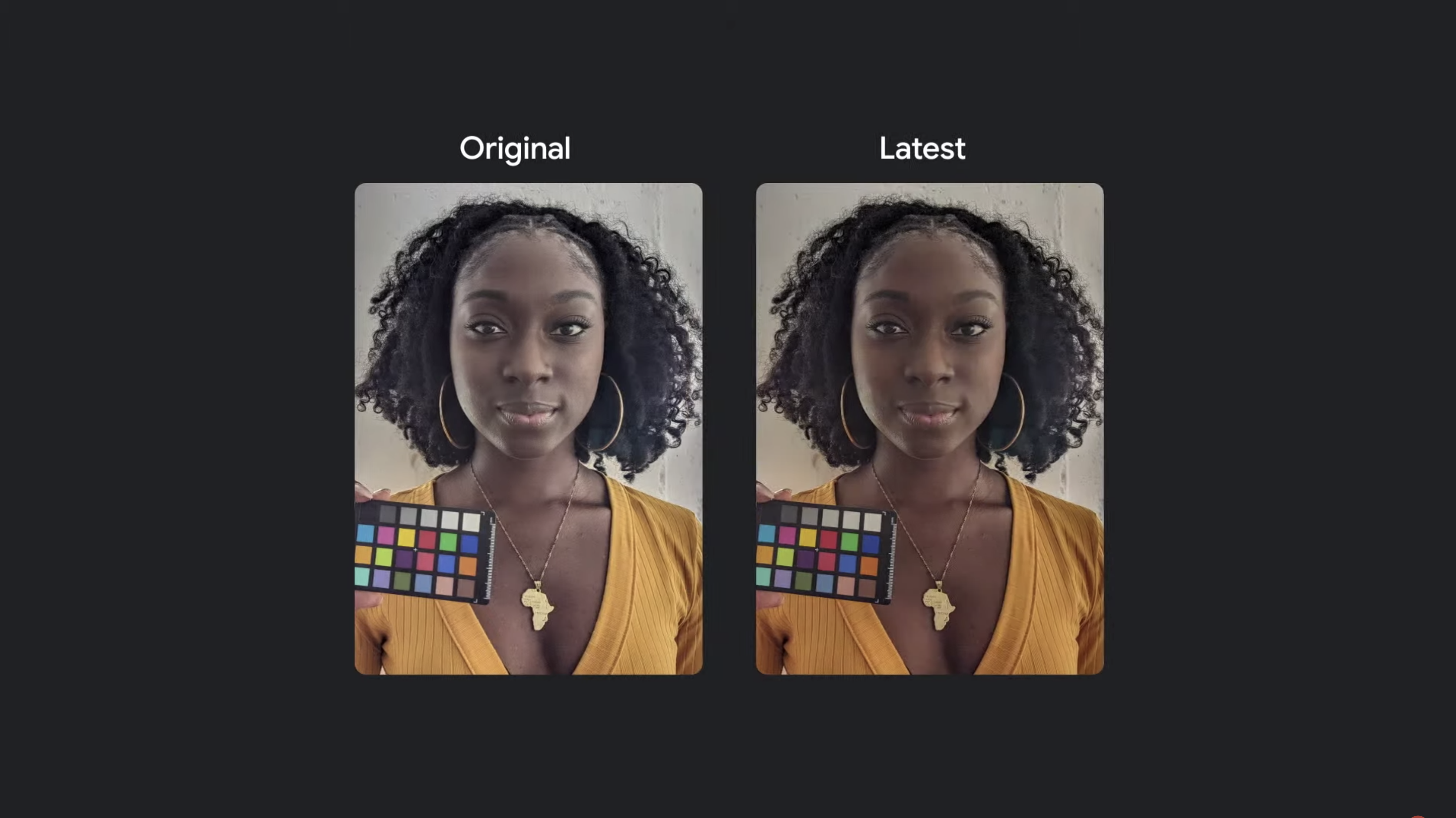 Google IO 2021 photography of persons of color