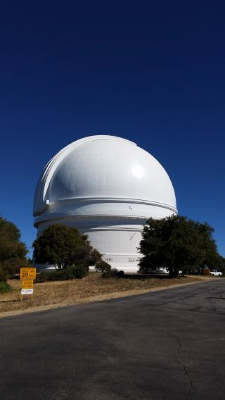 The Palomar Observatory in southern California