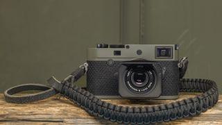 Bullet-proof camera! The Leica M10-P Reporter packs kevlar armor