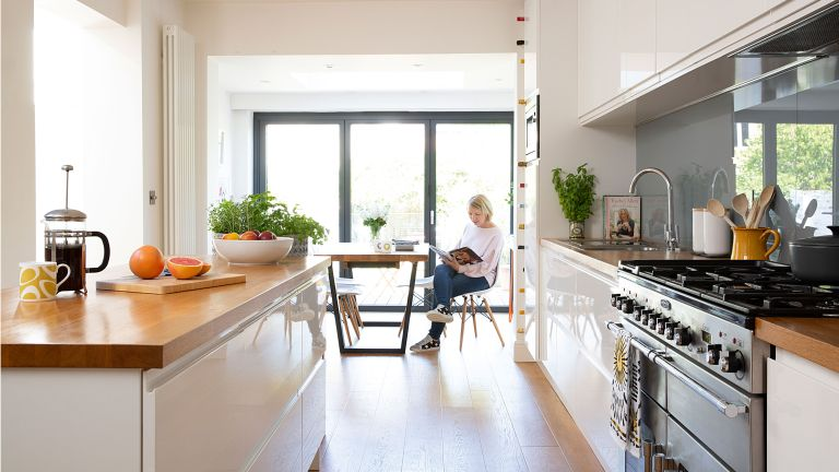 Laura and Ed Gray's three-storey home has adapted to every phase of their lives