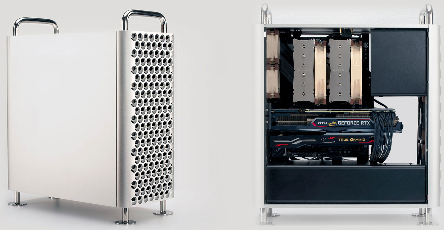 This case will make your PC look like a Mac, if that's your thing | PC Gamer