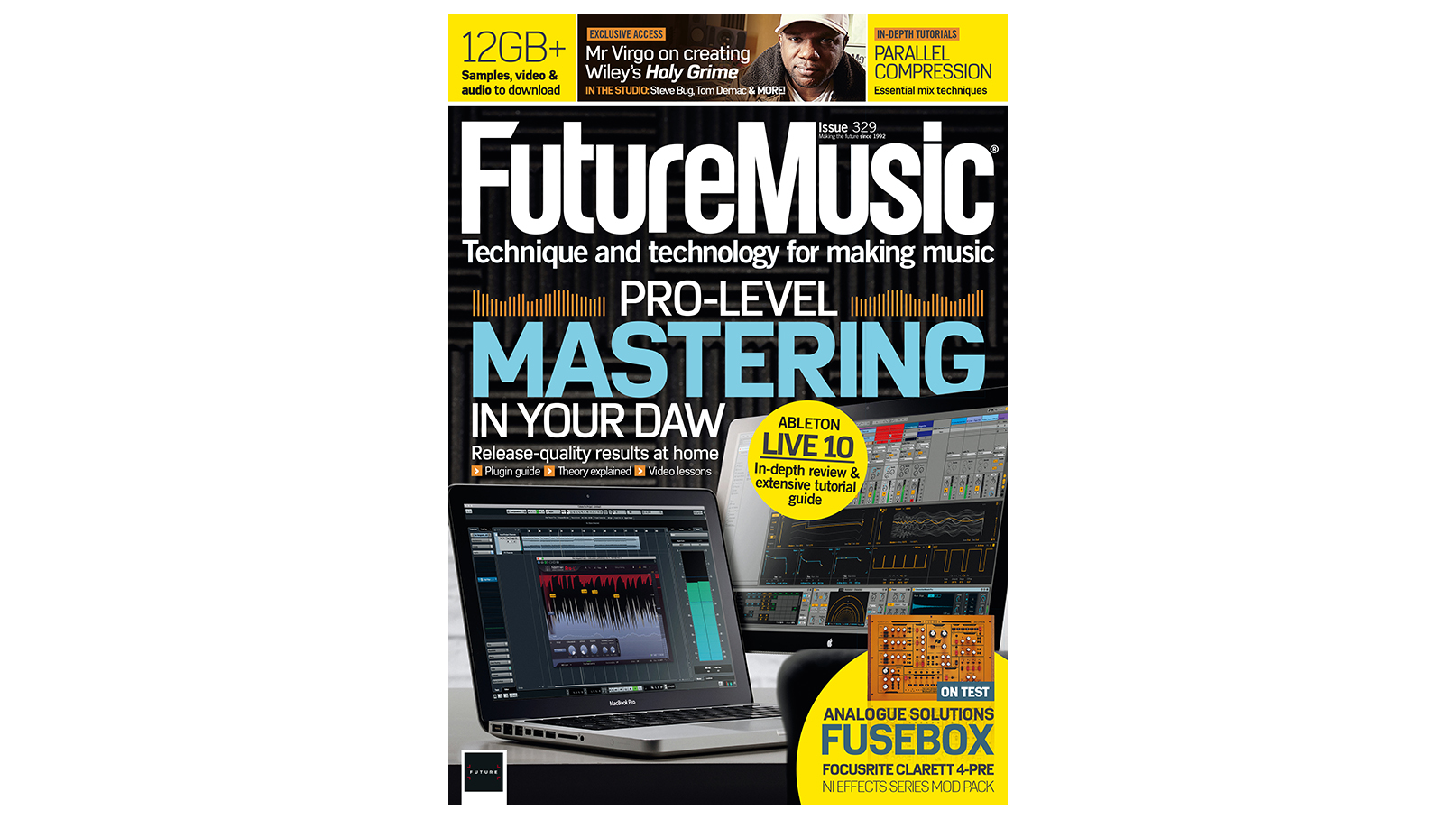 Issue 329 Of Future Music Is On Sale Now Musicradar Fuse Box Ads
