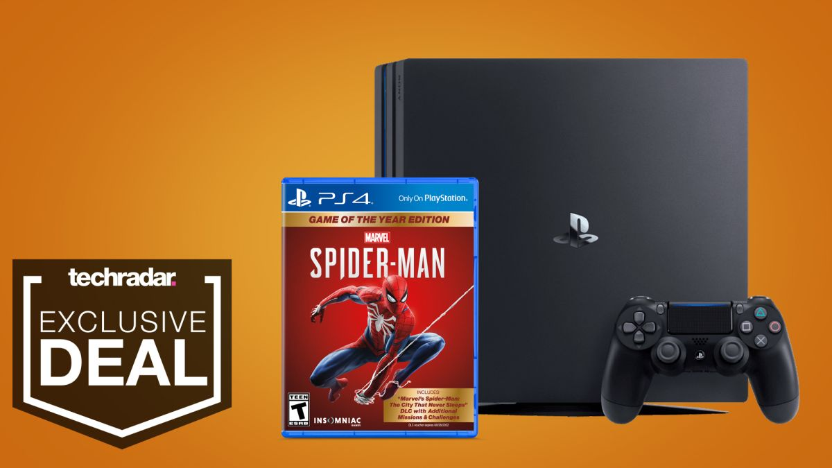 Get a PS4 Pro bundle with Spider-Man for $279 in this holiday deal