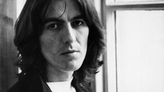 George Harrison at Apple HQ in 1969
