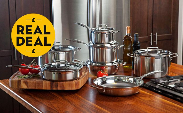Amazon's deal of the day: 45% off a Le Creuset saucepan set. Yes please...