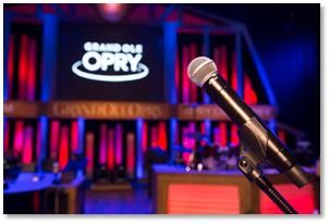 Shure and Grand Ole Opry Mark 90 Years